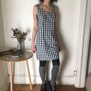 Vintage plaid mini dress